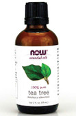 Now Foods 100% Pure Tea Tree Oil 2 oz, Cleansing & Purifying