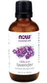 100% Pure Lavender Oil 2 oz, Now Foods, Soothing & Balancing