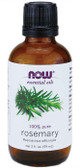 Now Foods Pure Rosemary Oil 2 oz, Purifying & Uplifting