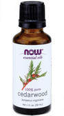 Cedarwood Oil 1 oz Now Foods Aromatherapy