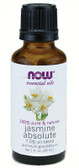 Jasmine Absolute  7.5 pct Oil   1 oz, Now Foods
