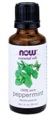 Peppermint Oil 1 oz, Now Foods Aromatherapy