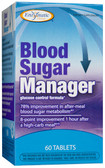 Blood Sugar Manager 60 Tabs, Enzymatic Therapy