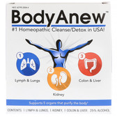 Heel Body Anew Cleanse Detox 3-Part Kit Oral Drops, Homeopathic