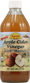 Organic Apple Cider Vinegar w/Mother 16 oz, Dynamic Health