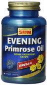 Evening Primrose Oil Deluxe 1300 mg 60 Softgels, Health from the Sun