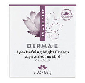 Age Defying Moisturizer Night Creme 2 oz Derma E