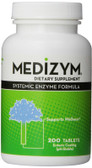 Medizym Systemic Enzyme Formula 200 Tabs Naturally Vitamins, Wellness