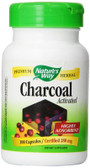 Charcoal Activated 100 Caps Nature's Way, Digestive Aid, Cleansing