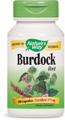 Burdock Root 100 Caps, Nature's Way, Cleansing