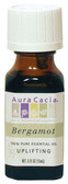 Aura Cacia Bergamot 100% Pure Essential Oil 0.5 oz bottle