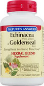 Echinacea-Goldenseal 90 vegicaps Nature's Answer, Immune