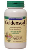 Goldenseal Root 550 mg 50 VCaps, Nature's Answer