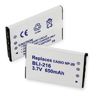 Casio EX-M2 Digital Battery