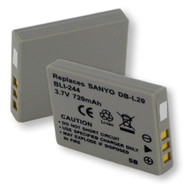 Sanyo DMXC6K battery, 720mAh