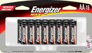 AA Batteries - Energizer Max - 16 Pack
