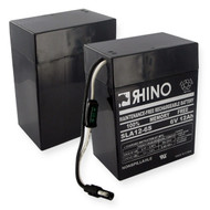 RHINO SLA 12-6S* 6V 12.0Ah battery (replacement)