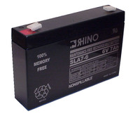 CHLORIDE 6V7.0AH battery (replacement)