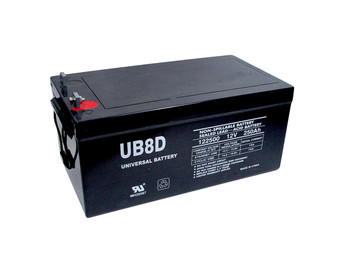 UB-8D AGM battery (replacement)