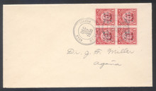 gmm06h3. Guam Guard Mail M6 blk/4 (VF) tied by SUMAY 12-29-1930 cds's on neat local cover. Scarce & Attractive cancel & cover!