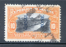 cz045g4. Canal Zone 45 used F-VF+. Elusive used example!