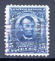 cz006b3. Canal Zone 6 Used VF-XF. Outstanding used example!