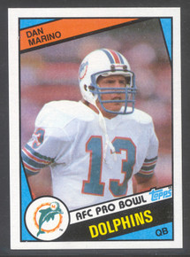 Football 1984 Topps 123 Dan Marino Rookie Card Superb MINT condition