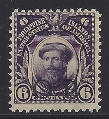 """piob243a3. Philippines 243 variety with Black Constabulary """"OB"""" Overprint. Unused, NH, Fresh & F-VF. Nice """"Bandholtz OB"""" Overprint. Scarce, Only 4000 issued!"""