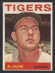 BASEBALL 1964 TOPPS CARD 250 AL KALINE HOF OUTFIELDER DETROIT TIGERS EXMT+ & ATTRACTIVE!