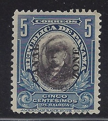 cz057d3. Canal Zone 57 Used VF+. Attractive used example!