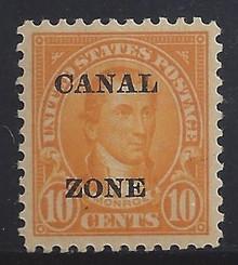 cz075c3. Canal Zone 75 Unused, LH, VF-XF. Superb Jumbo!