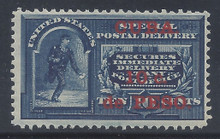 cbE1c3. Cuba E1 Special Delivery stamp unused Never Hinged F-VF+. Post Office Fresh & Attractive!