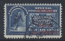 cbE1c7. Cuba E1 Special Delivery stamp used F-VF+. Scarce & Attractive Used Example!