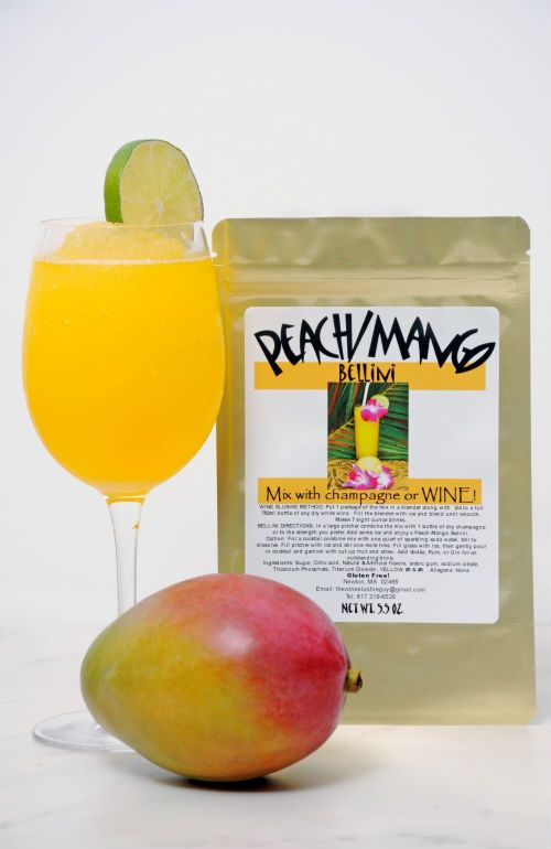 Peach Mango Bellini Wine Slush