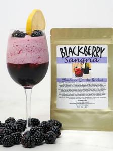Blackberry-Sangria wine slush mix