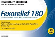 Pharmacy Action Fexorelief 30 Tablets 180mg