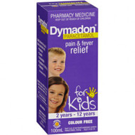 Dymadon  2-12yrs  Colour Free 100ml