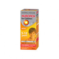 Nurofen 5-12years Strawberry 100ml
