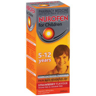 Nurofen 5-12years Strawberry 200ml