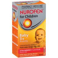 Nurofen Childrens Infant Drops 30ml
