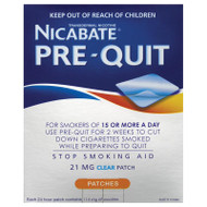 Nicabate Prequit Patch 14 21mg