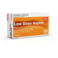 Pharmacy Action Low Dose Aspirin 168 Tablets