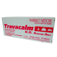 Travacalm Hyoscine Only 10 Tablets