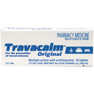 Travacalm 10 Tablets