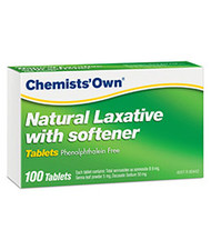 Chemist Own Natural Laxative & Softener 100 Tablets