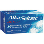 Alka Seltzer Regular 20 Tablets