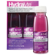 Hydralyte Liquid Apple Blackcurrant 250ml 4 Pack