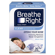 Breathe Right Nasal Strip Small/Medium 30 Pack