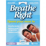 Breathe Right Strip Clear Regular 10