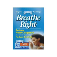 Breathe Right Strip Clear Large 30
